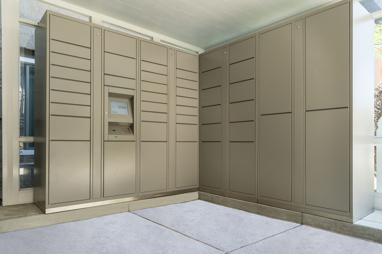 UCA Apartment Homes in Fullerton, California, offer secure lockers