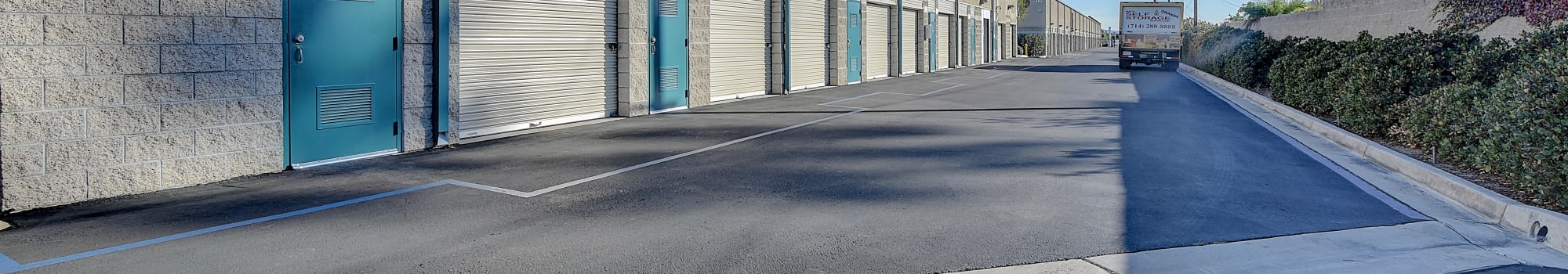 Contact us today at My Self Storage Space in Orange, California