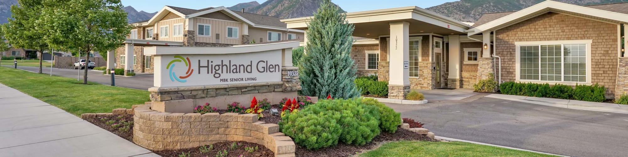 Schedule a Tour at Highland Glen in Highland, Utah