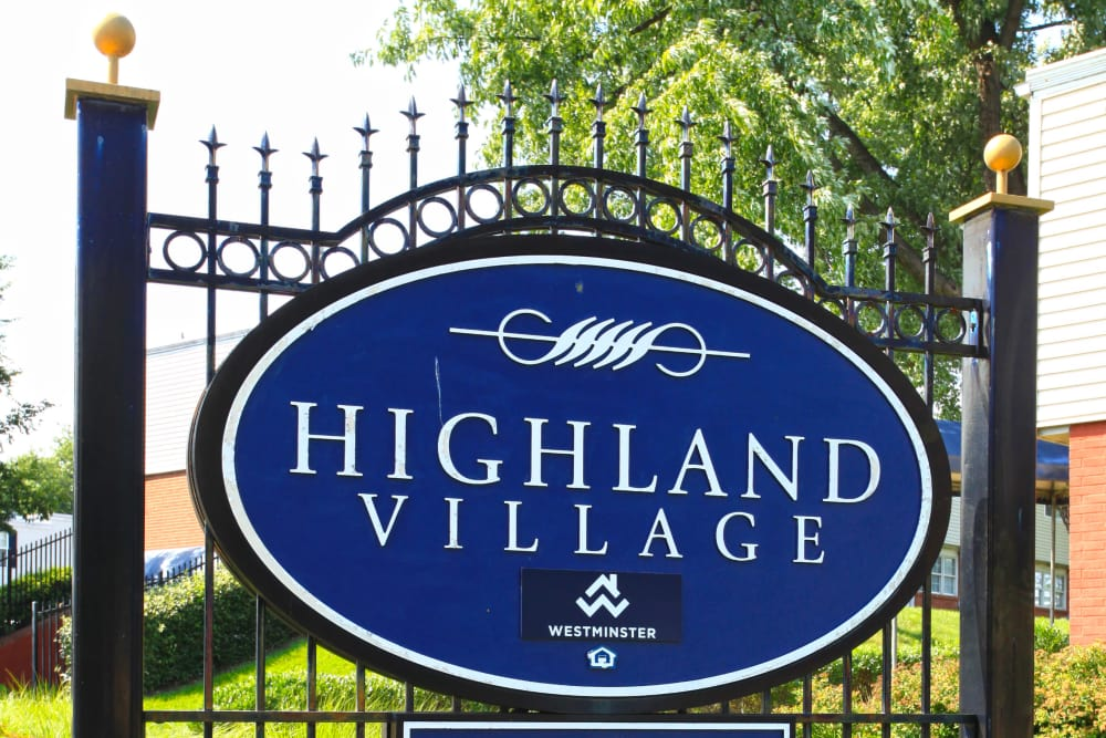 Welcome to the lovely Highland Village