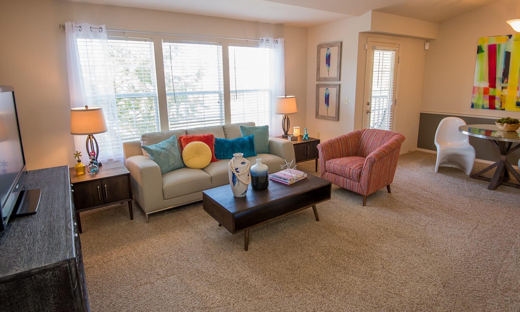 Apartments at Villas at Aspen Park in Broken Arrow, Oklahoma