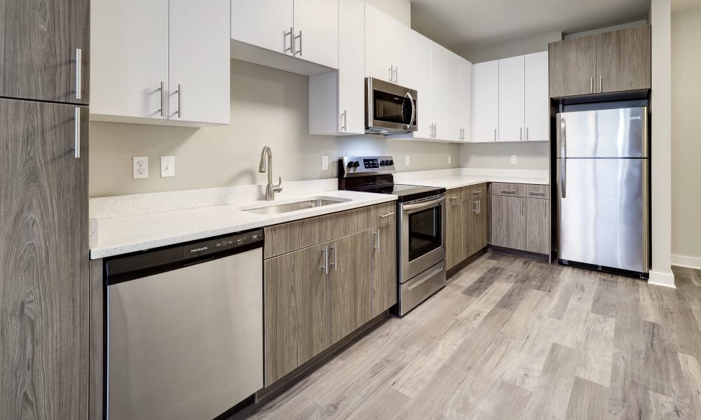 Kitchen at Fenton Silver Spring in Silver Spring, Maryland