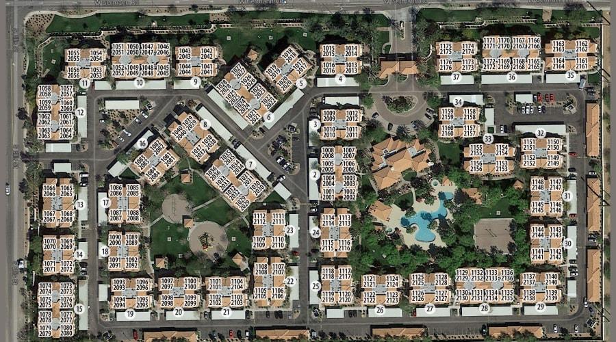 San Palacio site plan