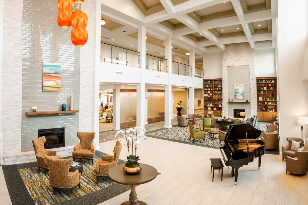 Main lobby at Anthology of Mason in Mason, Ohio