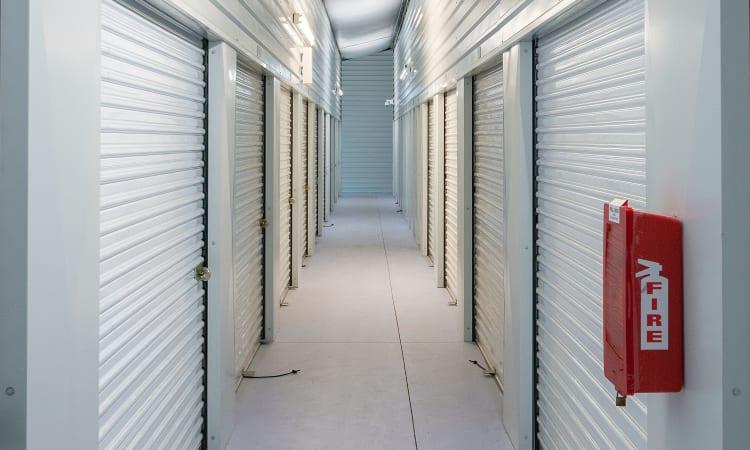 Glacier West Self Storage in Arlington, Washington, interior storage units