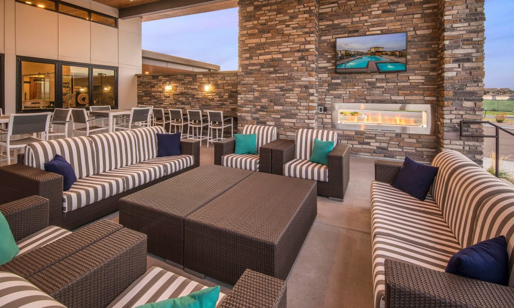 Strata Apartments offers a clubhouse in Denver, Colorado