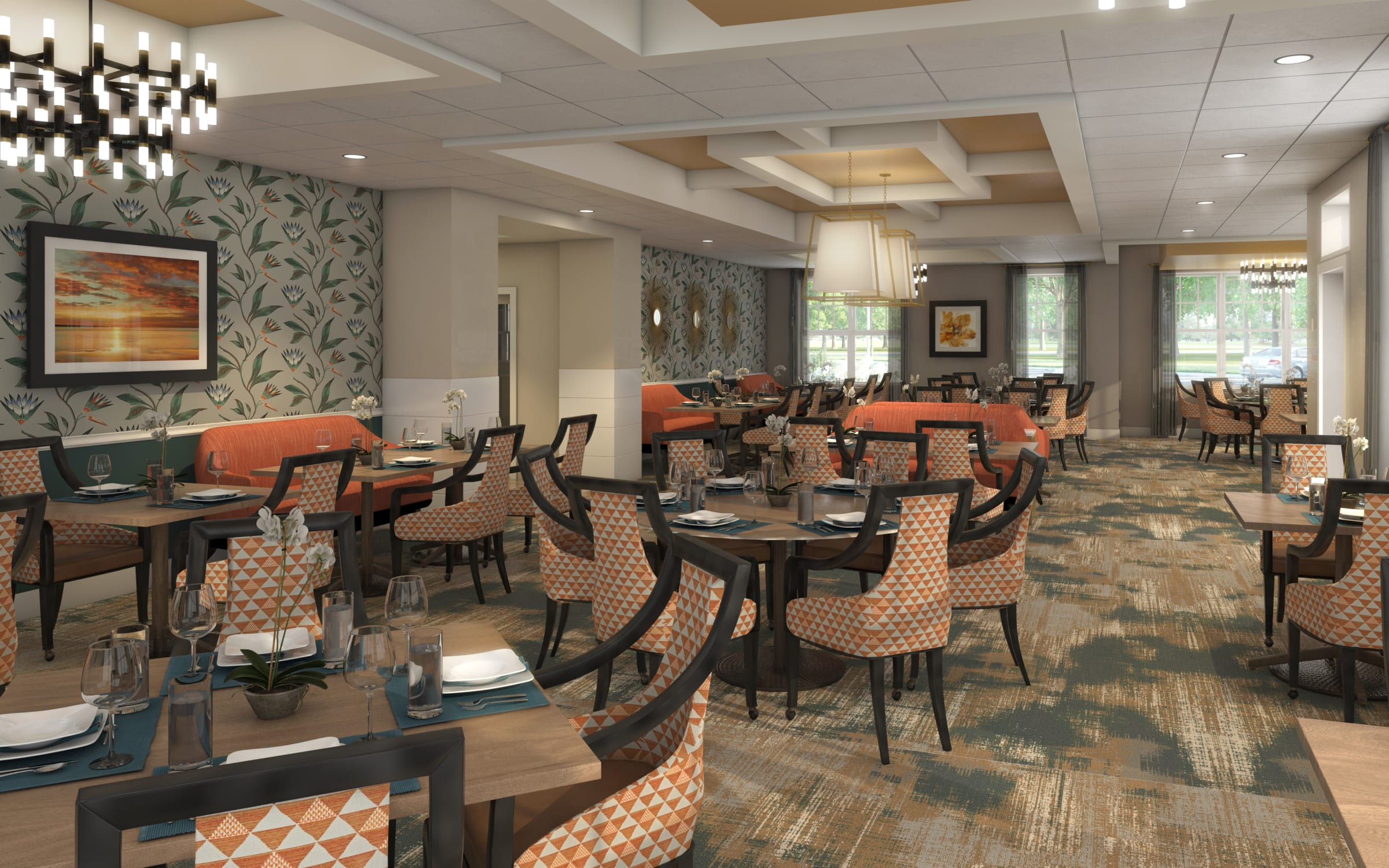 Services and amenities at Anthology of Farmington Hills in Farmington Hills, Michigan