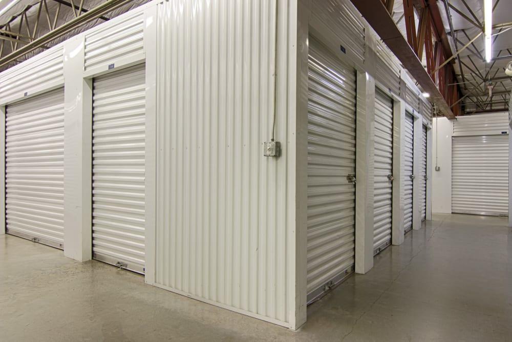Indoor units at Metro Self Storage in Sarasota, Florida