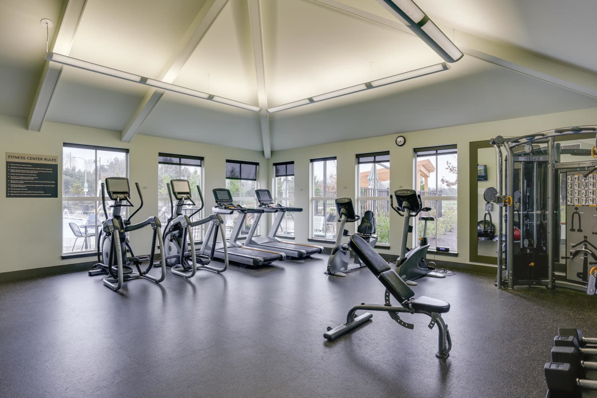 Fitness Center at Terrene at the Grove