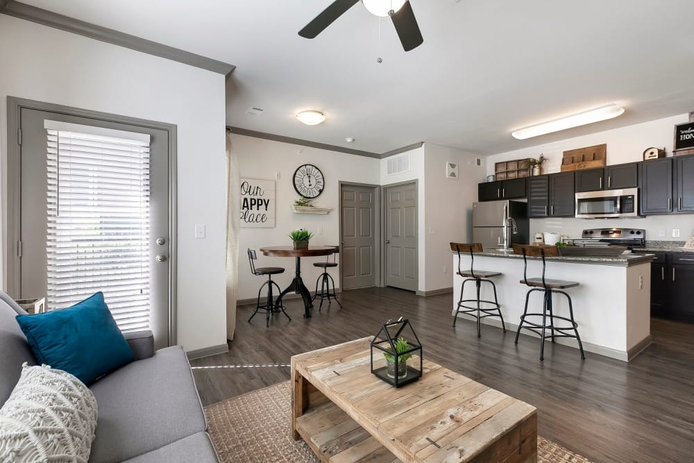Spacious floor plans at Plum Creek Vue in Kyle, Texas