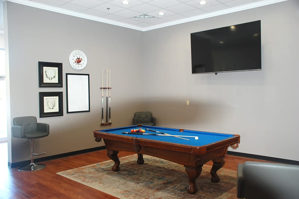 enjoy some billiards at Pikeville Commons Apartments in Pikeville, Kentucky