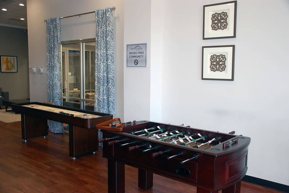 Foosball at Pikeville Commons Apartments in Pikeville, Kentucky