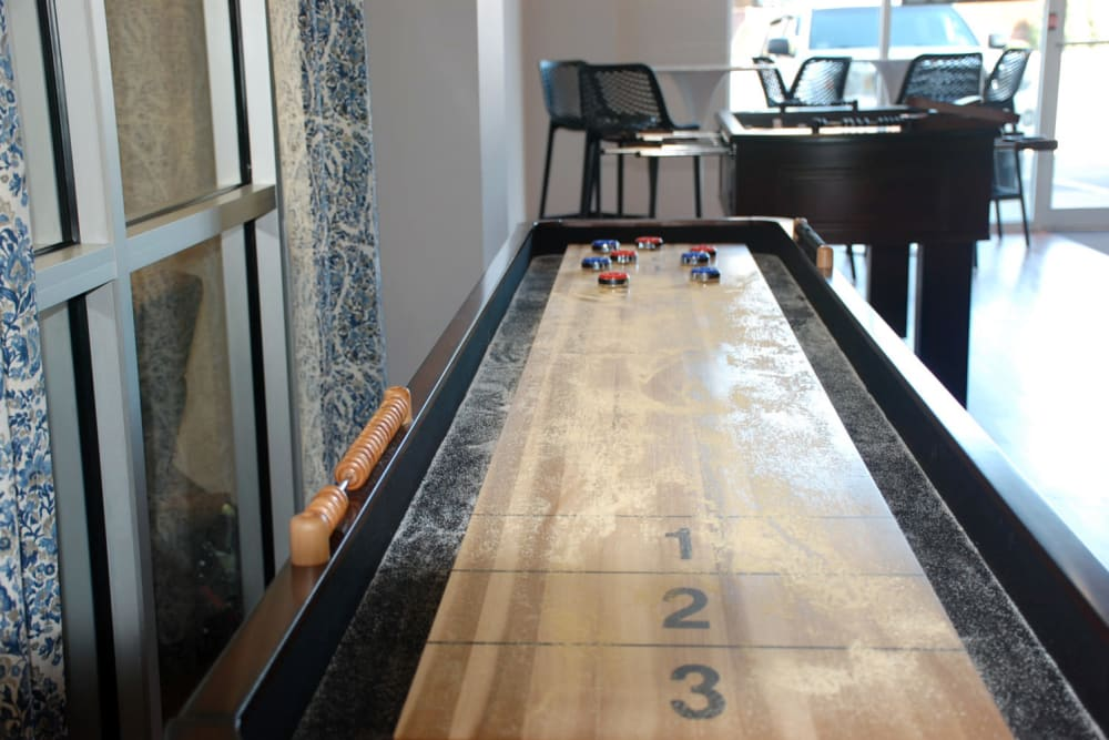 Shuffle board at Pikeville Commons Apartments in Pikeville, Kentucky