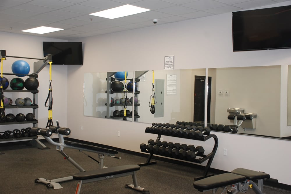 Apartments with a Fitness Center at Pikeville Commons Apartments