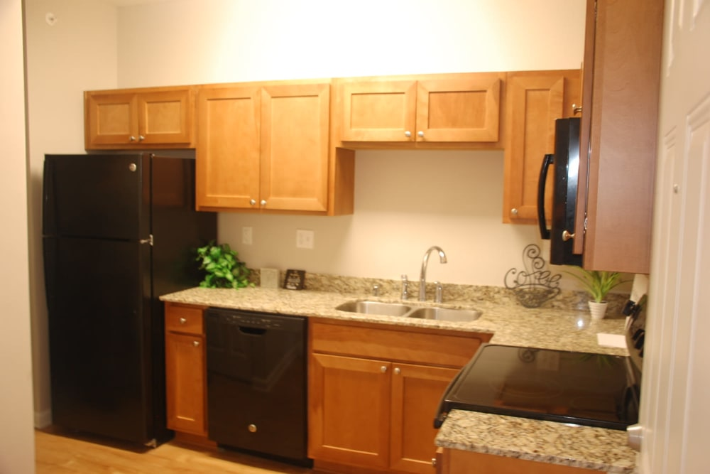 Beautiful apartment features await at Pikeville Commons Apartments in Pikeville, Kentucky