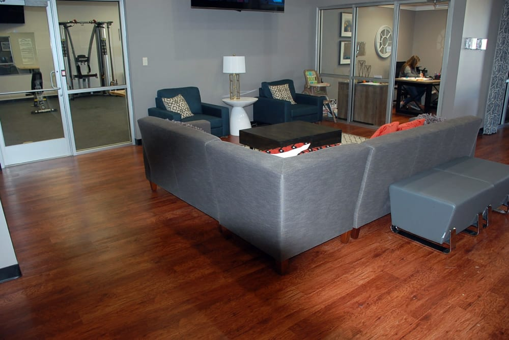 Living Room at Pikeville Commons Apartments in Pikeville, Kentucky