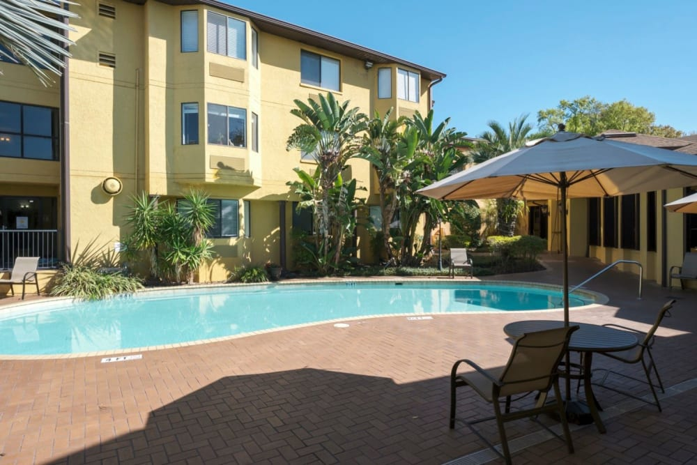 Outdoor pool at Grand Villa of Altamonte Springs in Florida
