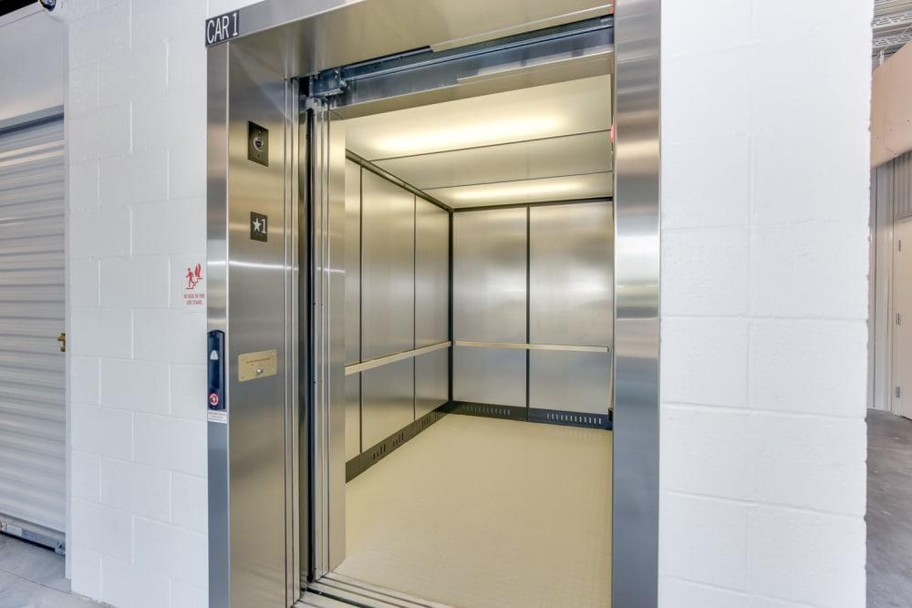 Elevators at Happy Boxes Self Storage in Richmond, Virginia