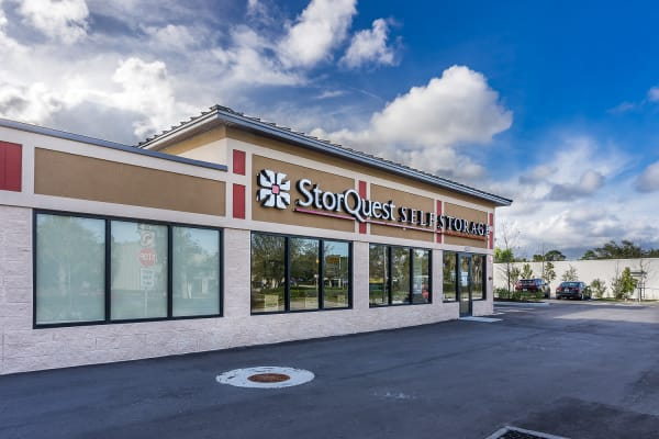 RV and boat storage spaces available at StorQuest Self Storage in St Cloud, Florida
