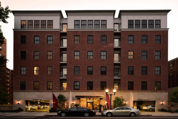 Exterior view of The Verano in Stamford, Connecticut
