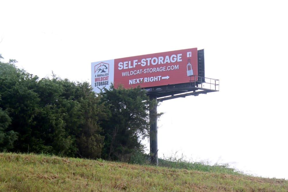 Billboard Sign on HWY 50 East