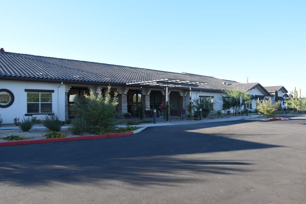 Exterior image of property at Shadow Mountain Memory Care in Phoenix, Arizona