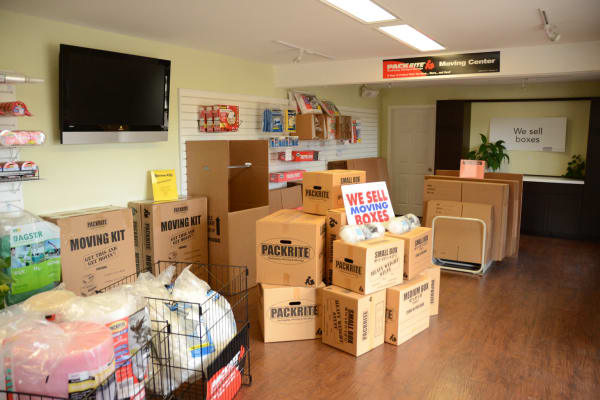Packing supplies are conveniently available at Lock Box Self Storage in Mt Juliet, TN