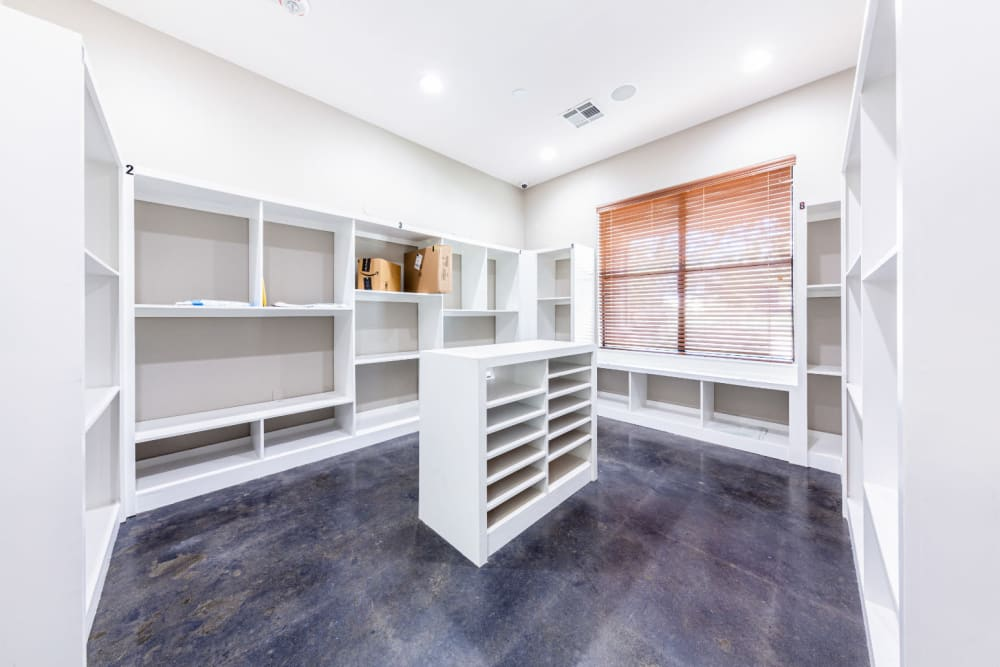 Package room at Marquis at Katy in Katy, Texas