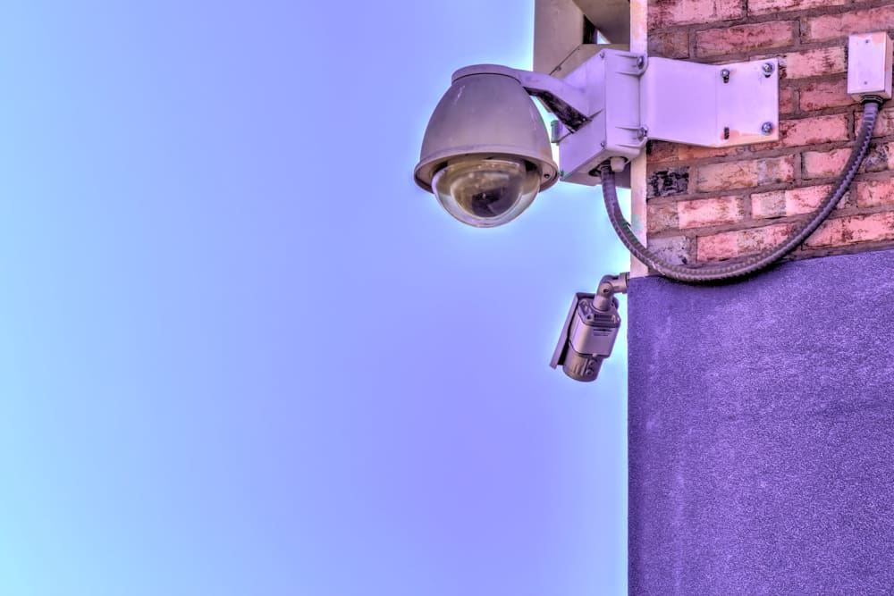 Security cameras at Prime Storage in Cartersville, Georgia