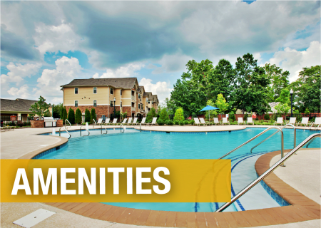 Amenities at Richland Falls in Murfreesboro, Tennessee