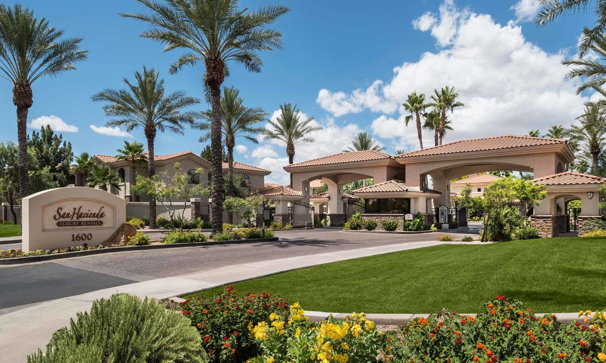 Gated Community at San Hacienda in Chandler, Arizona