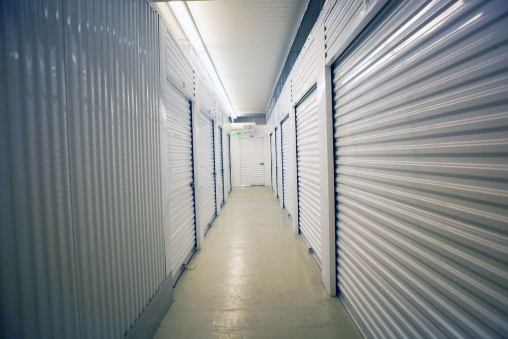 Interior units at Lock It Up Self Storage in Ogden, Utah