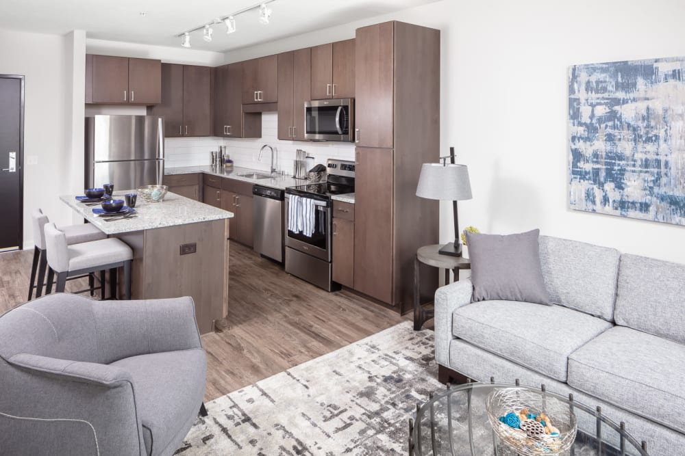 The Maven on Broadway | 2 Bedroom Luxury Apartments near Mayo Clinic in Rochester, MN