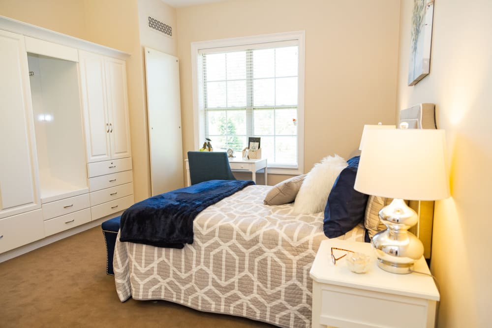 Bedroom at The Legacy at Liberty Ridge in West Chester, Ohio