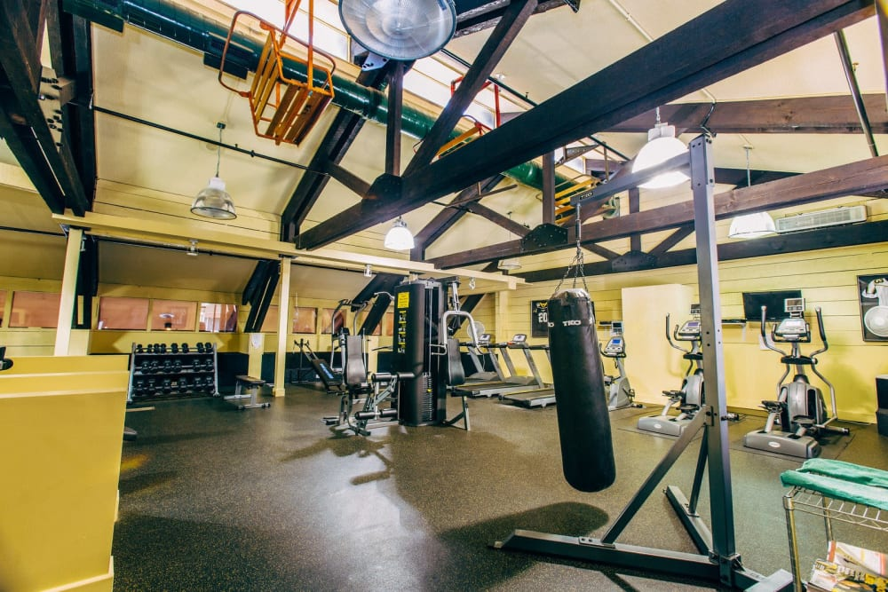 Studio West offers a modern fitness center in Boone, North Carolina