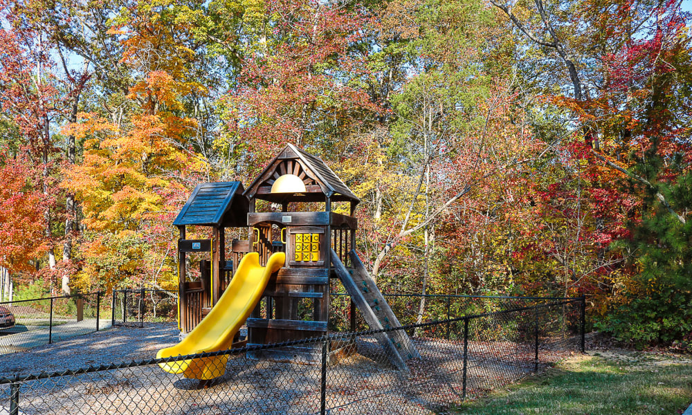 Playground area at Chapel Hill North in Chapel Hill