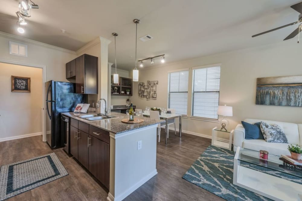 Stunning model apartment home at Heights West 11th in Houston, Texas