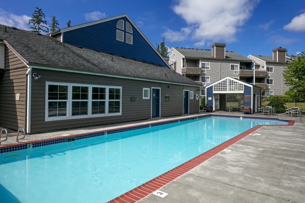 Swimming pool at The Carriages at Fairwood Downs in Renton, WA