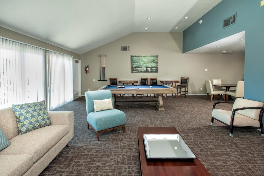 clubhouse at Ridgecrest Apartment Homes in Martinez, California