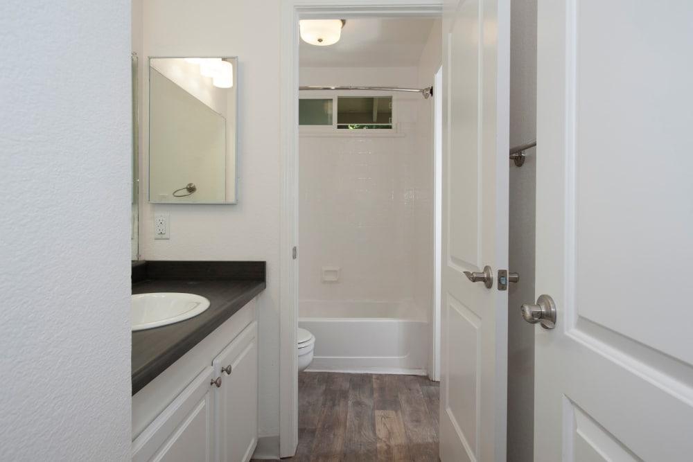 bathroom at Ridgecrest Apartment Homes