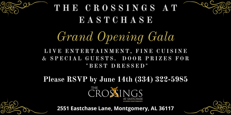 grand opening gala June 14 2021 at The Crossings at Eastchase