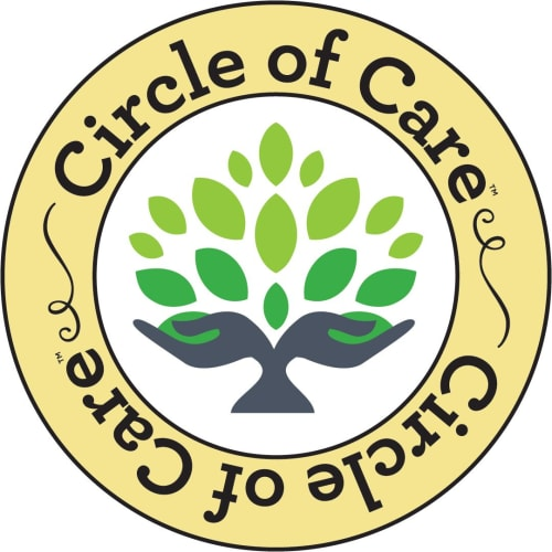 Circle of care logo at Garden Place Millstadt in Millstadt, Illinois.