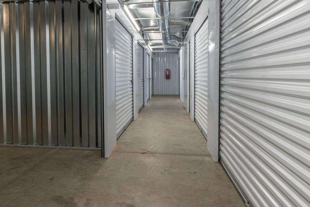 Indoor storage units at Apperson Self Storage in Salem, Virginia