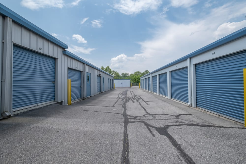 Drive-up outdoor storage at Apperson Self Storage in Salem, Virginia