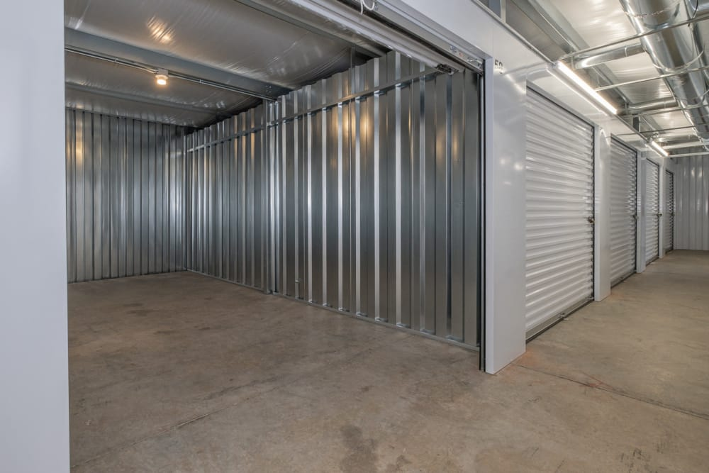 Various sizes of storage units at Apperson Self Storage in Salem, Virginia