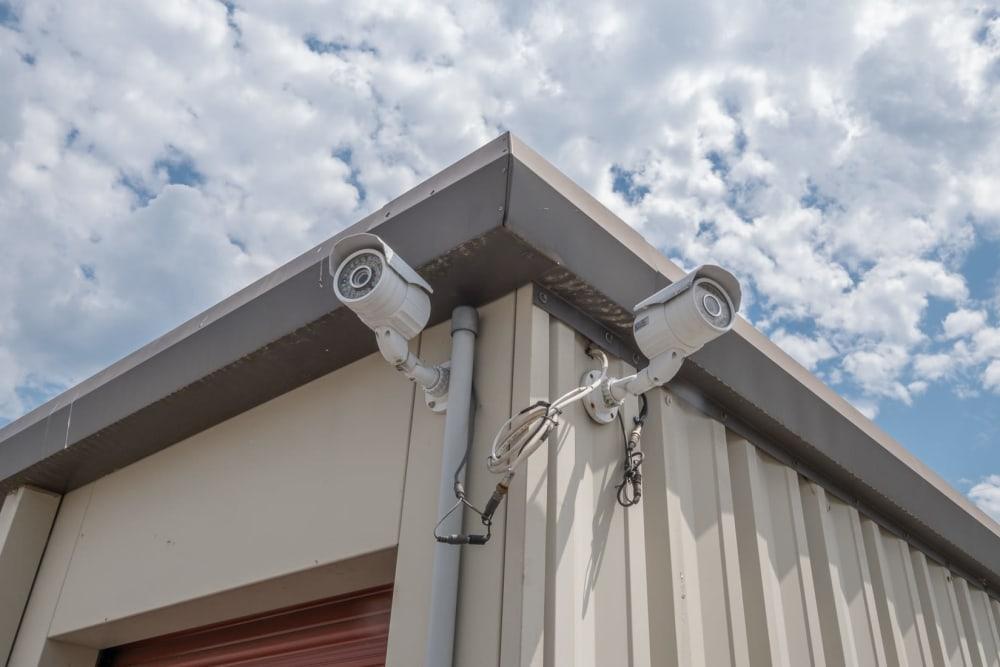 Security cameras record 24/7 at Apperson Self Storage 2 in Roanoke, Virginia
