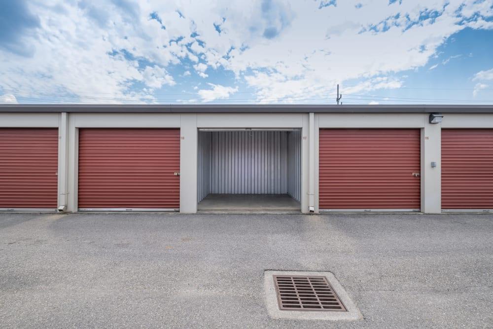 Drive-up storage units in Roanoke, Virginia