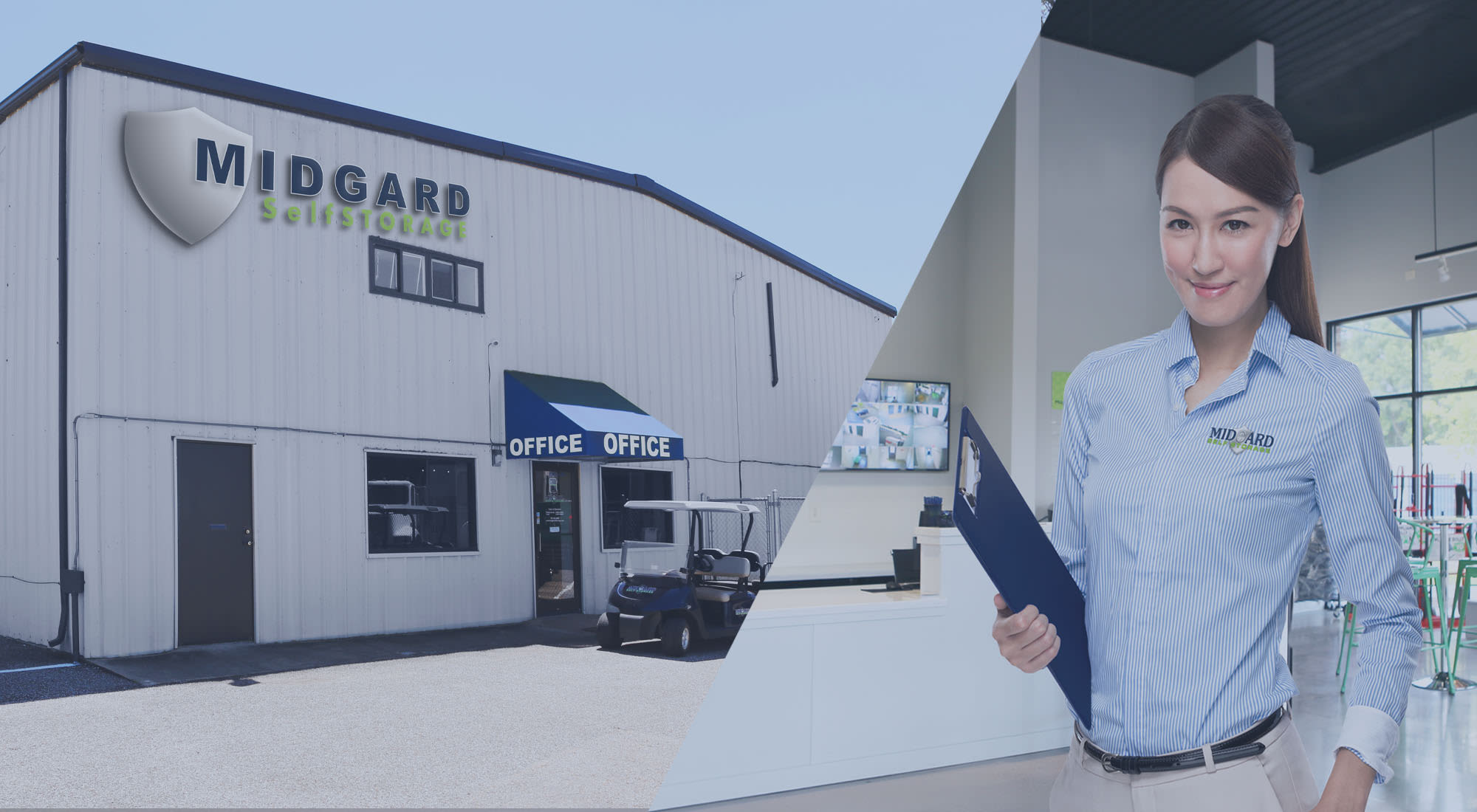 Self storage at Midgard Self Storage in Oakland, Tennessee
