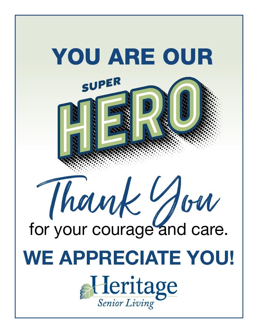 Heritage Senior Living honors their heroes