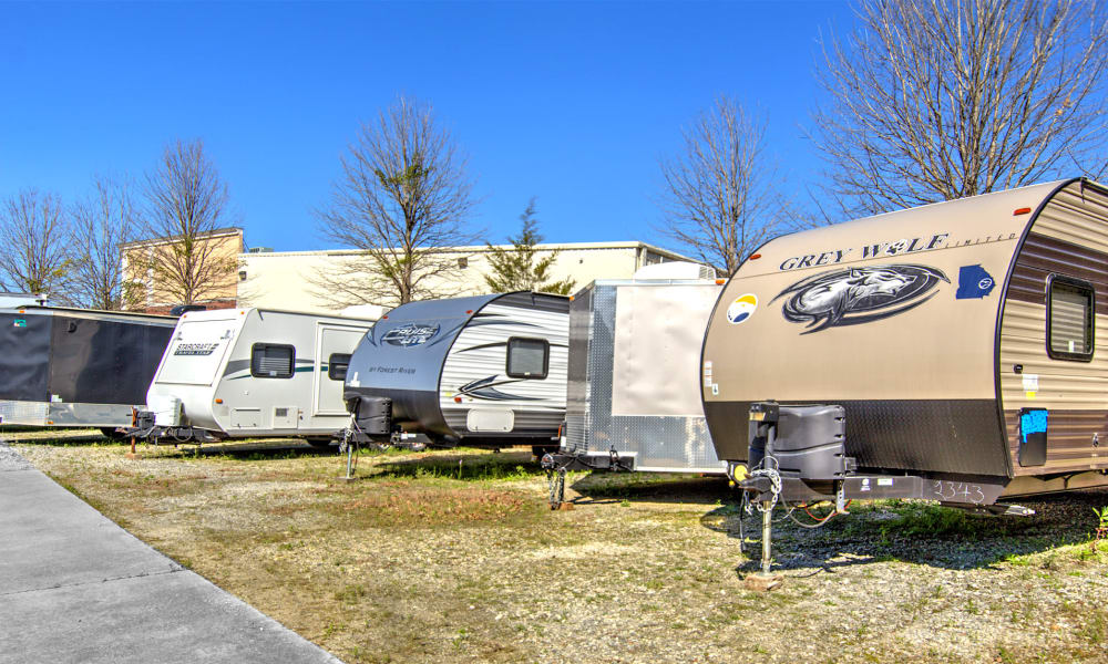 Store your RV with Prime Storage in Marietta, Georgia